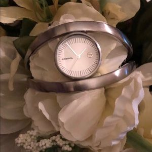 Women's Bangle Style Fossil Watch